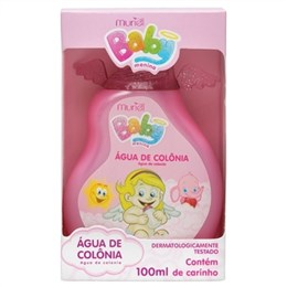 Agua de Colonia Muriel Baby Menina (Emb. contém 1un. de 100ml)