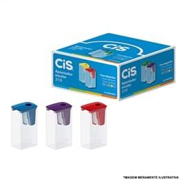Apontador CIS com Despósito Plastico (Emb. contém 24un.)
