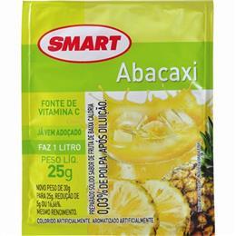 Refresco em Pó Adoçado Smart Abacaxi (Emb. contém 15un. de 25g cada)