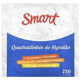 Algodão Smart Quadradinhos (Emb. contém 250un.)