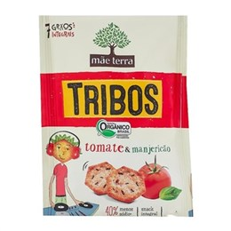 Biscoito integral mãe terra 25g tomate e manjericão