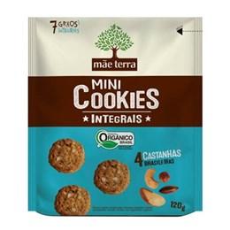 Biscoito cookie integral mãe terra 120g 4 castanhas brasileiras