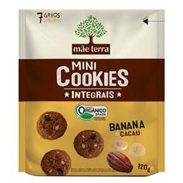 Biscoito cookie integral mãe terra 120g banana e cacau