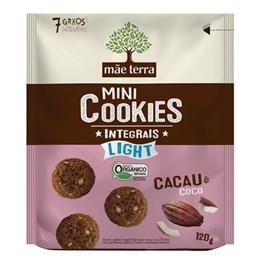 Biscoito cookie integral mãe terra 120g cacau e coco