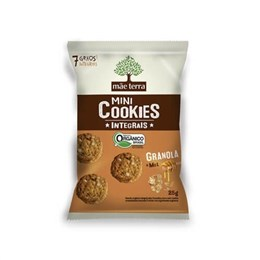 Biscoito cookie integral mãe terra 25g granola e mel