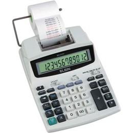 Calculadora de Mesa MA5121 com Bobina Bivolt Elgin 12 Digitos Relogio Impressão Bicolor (Emb. contém 1un.)