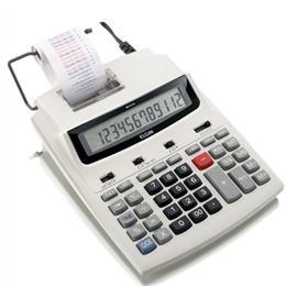 Calculadora de Mesa Elgin MR6125 com Bobina 12 Digitos Calendario Bivolt (Emb. contém 1un.)