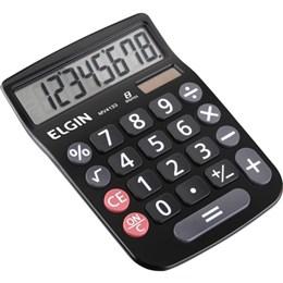 Calculadora de Mesa MV4133 Solar/Bateria , Preta (Emb. contém 1un.) - Elgin