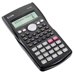 Calculadora Científica CC240 10+2 Dígitos , 240 Funções , Display 2 linhas e Capa de Proteção (Emb. contém 1un.) - Elgin