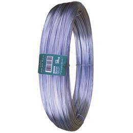 Arame Liso Galvanizado Morlan 14 Industrial Rolo (Emb. contém 1un. de 50Kg)