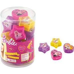 Apontador Tris Barbie Estrela e Coração Sortido com Deposito (Emb. contém 18un.)