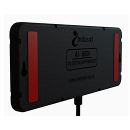 Antena Indusat Interna Digital Com Cabo 1,5m Slim AI-650 (Emb. contém 1un.)