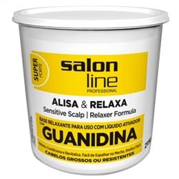 Alisante em Creme Salon Line Guanidina Super Tradicional Baldinho (Emb. contém 1un. de 215g)