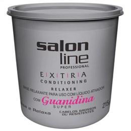 Alisante em Creme Salon Line Guanidina Extra Super Baldinho (Emb. contém 1un. de 215g)