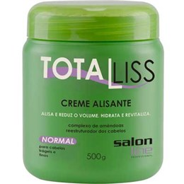 Alisante em Creme Salon Line Tioglicolato Total Liss Normal (Emb. contém 1un. de 500g)