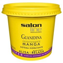 Alisante em Creme Salon Line Guanidina Manga Super Baldinho (Emb. contém 1un. de 215g)