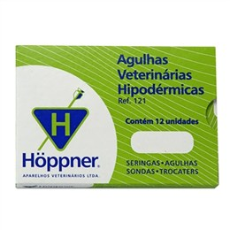 Agulha Veterinária Hoppner 10 x 15 (Emb. contém 12un.)