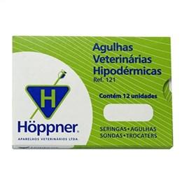 Agulha Veterinária Hoppner 15 x 18 (Emb. contém 12un.)