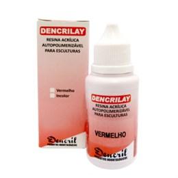 Acrílico Dencrilay Vermelho 25G - Dencril