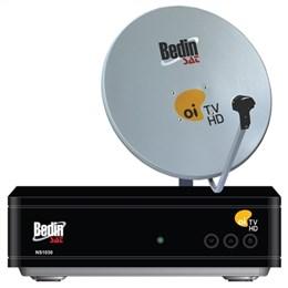 Antena 60cm com Decoder Cromus Oi TV HD Livre (Emb. contém 1un.)