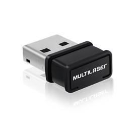 Adaptador USB Wireless Multilaser 150Mbps - RE035 RE035