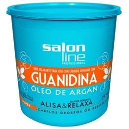 Alisante em Creme Salon Line Argan Super Baldinho (Emb. contém 1un. de 215g)