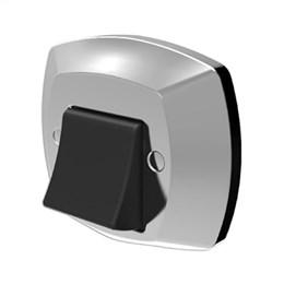 Acabamento Blukit para Valvula Descarga Docol Abs Cromado / Preto (Emb. contém 1un.)