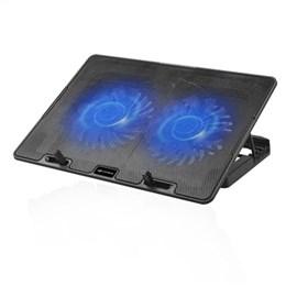 "Base Refrigedora para Notebook 15.6"" NBC-50BK 2 Coolers, 5 Posições, USB - C3TECH"