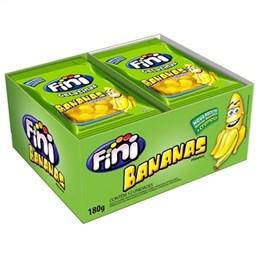 Bala Fini Gelatina Banana (Emb. contém 12un. de 15g cada)