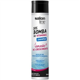 Shampoo Salon Line S.O.S. Bomba Vitaminas (Emb. contém 1un. de 300ml)