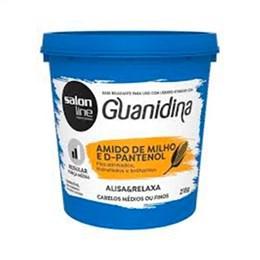 Alisante Creme Salon Line Guanidina Amido de Milho E D-Pantenol Regular (Emb. contém 1un. de 218g)