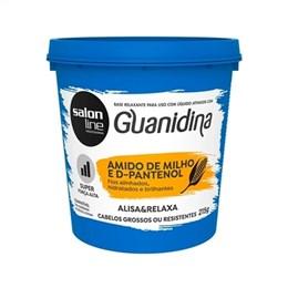 Alisante Creme Salon Line Guanidina Amido de Milho E D-Pantenol Super (Emb. contém 1un. de 215g)