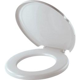 Assento Sanitário Herc Almofadado Cinza Claro 2386 (Emb. contém 1un.)