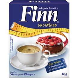Adoçante Finn Sucralose Pó Sachê (Emb. contém 50un. de 800mg cada)