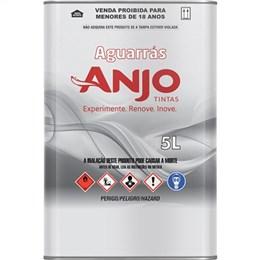 Aguarras Anjo Mineral (Emb. contém 4un. de 5 Litros cada)