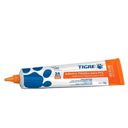 Adesivo Cola Pvc Tigre Incolor 4X75G Bisnaga