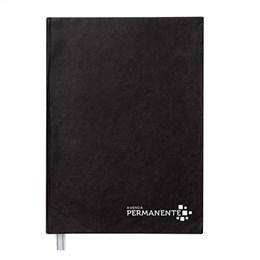 Agenda Foroni Executiva Costurada Permanente Preta 1 Dia (Emb. contém  5un.)