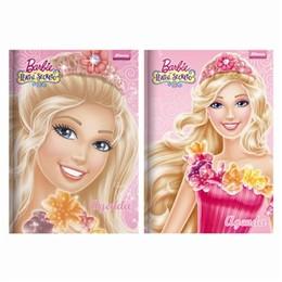 Agenda Escolar Perman Capa dura Barbie (Emb. cotém 4 un. de 96 folhas cada) - Foroni