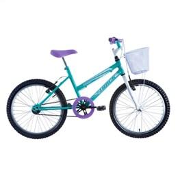 Bicicleta Juvenil Track Cindy BW Aro 20 Azul e Branca (Emb. contém 1un.)