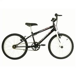 Bicicleta Juvenil Track Cometa PW Aro 20 Preto e Branca (Emb. contém 1un.)