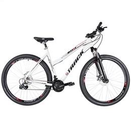 Bicicleta Adulto Track TKFM 29/WH Aro 29, Aluminium 21 Marchas Shimano Branco (Emb. contém 1un.)