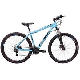 Bicicleta Track Bikes Trivo, Aro 29, 21 Marchas, Quadro de Alumínio, Azul