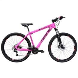 Bicicleta Track Bikes TKS, Aro 29, 21 Marchas, Quadro de Aluminio, Pink