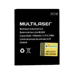 Bateria para Smartphone MLB45 - MS45 / MS45S (P9009, P9010, P9011, P9012, P9029, P9038) Multilser - PR058 PR058