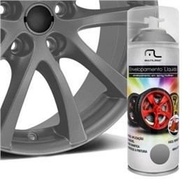Envelopamento Liquido Grafite 400ML Multilaser AU429 AU429