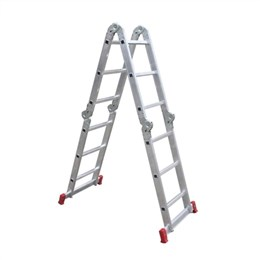 Escada Articulada Botafogo Aluminio 13 em 1, 3x4, 12 Degraus (Emb. contém 1un.)