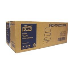 [INATIVO] Papel Toalha Interfolhada Tork Advanced - 16 Pacotes com 250 folhas simples