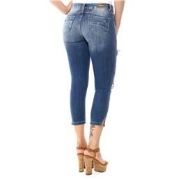 Calça Jeans Feminina Cropped  245354  Grade com 12 peças