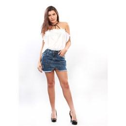 Saia Jeans Feminina  249920  Grade com 09 peças