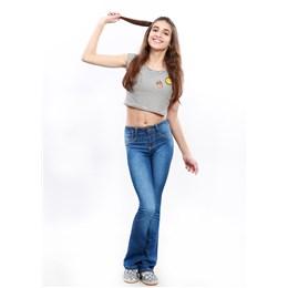 Calça Jeans Feminina  250582  Grade com 08 peças Calça Jeans Feminina Juvenil  250582  Grade com 08 peças